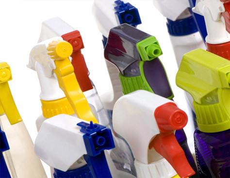 Lager gebruik van onderhouds- en verzorgingsproducten.