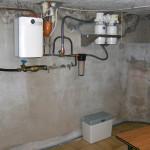 Duplex Unit plaatsing met zoutreservoir op de grond