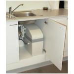 Simplex Compact in een keukenkast