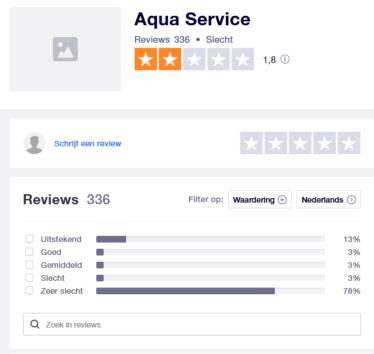 aqua service reviews